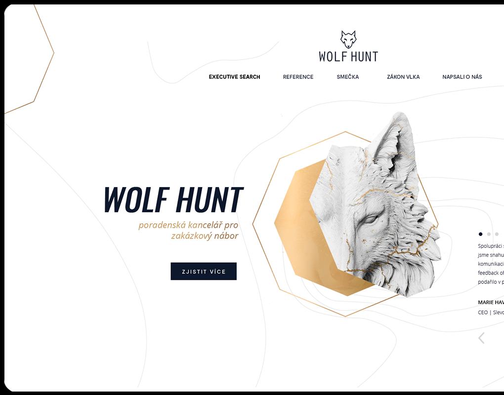 Wolfhunt náhled webu