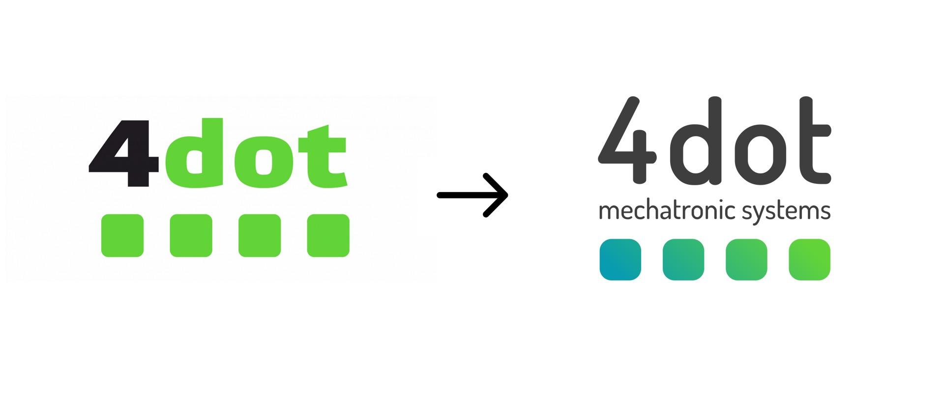 4dot logo redesign