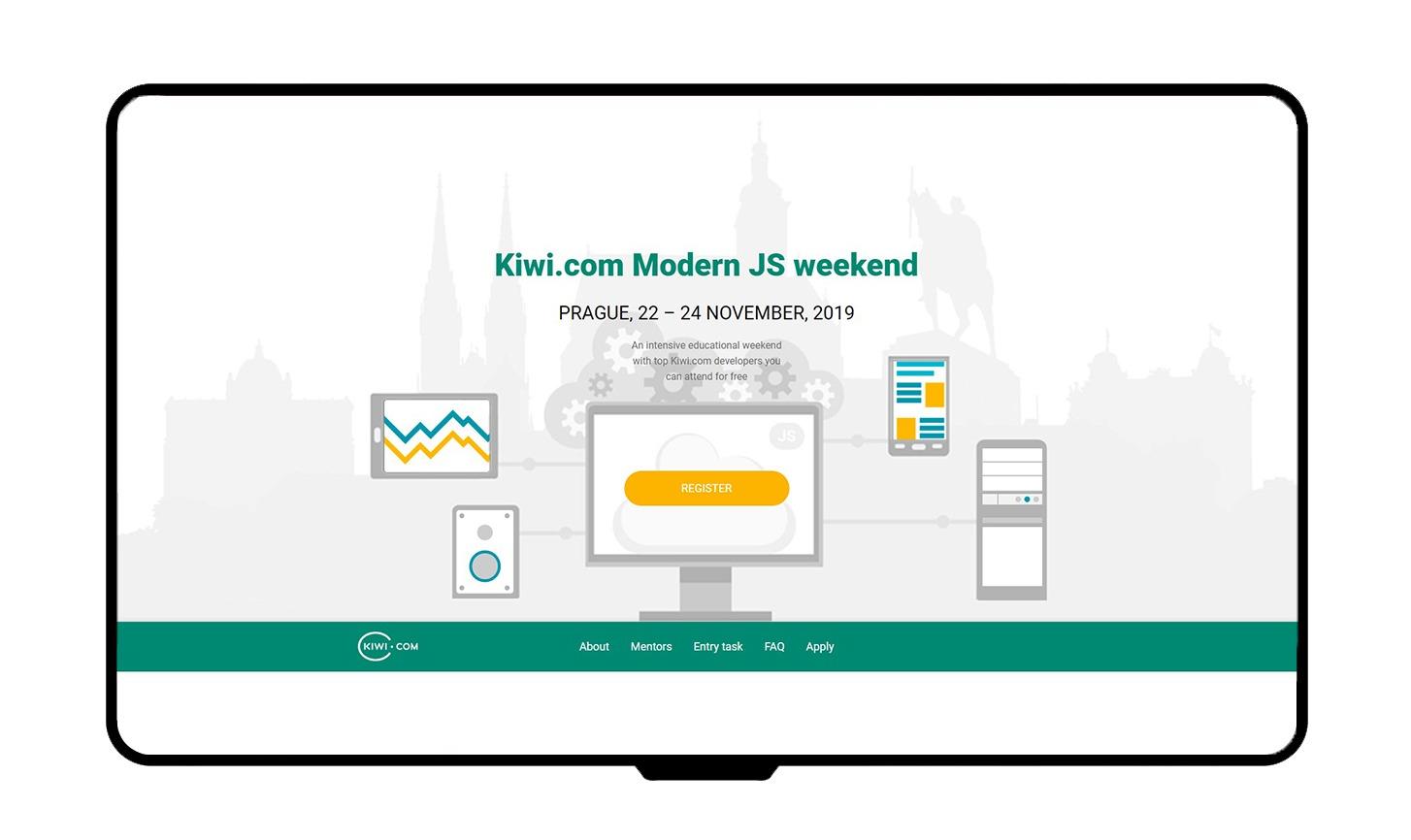 Kiwi.com - JS weekend mockup