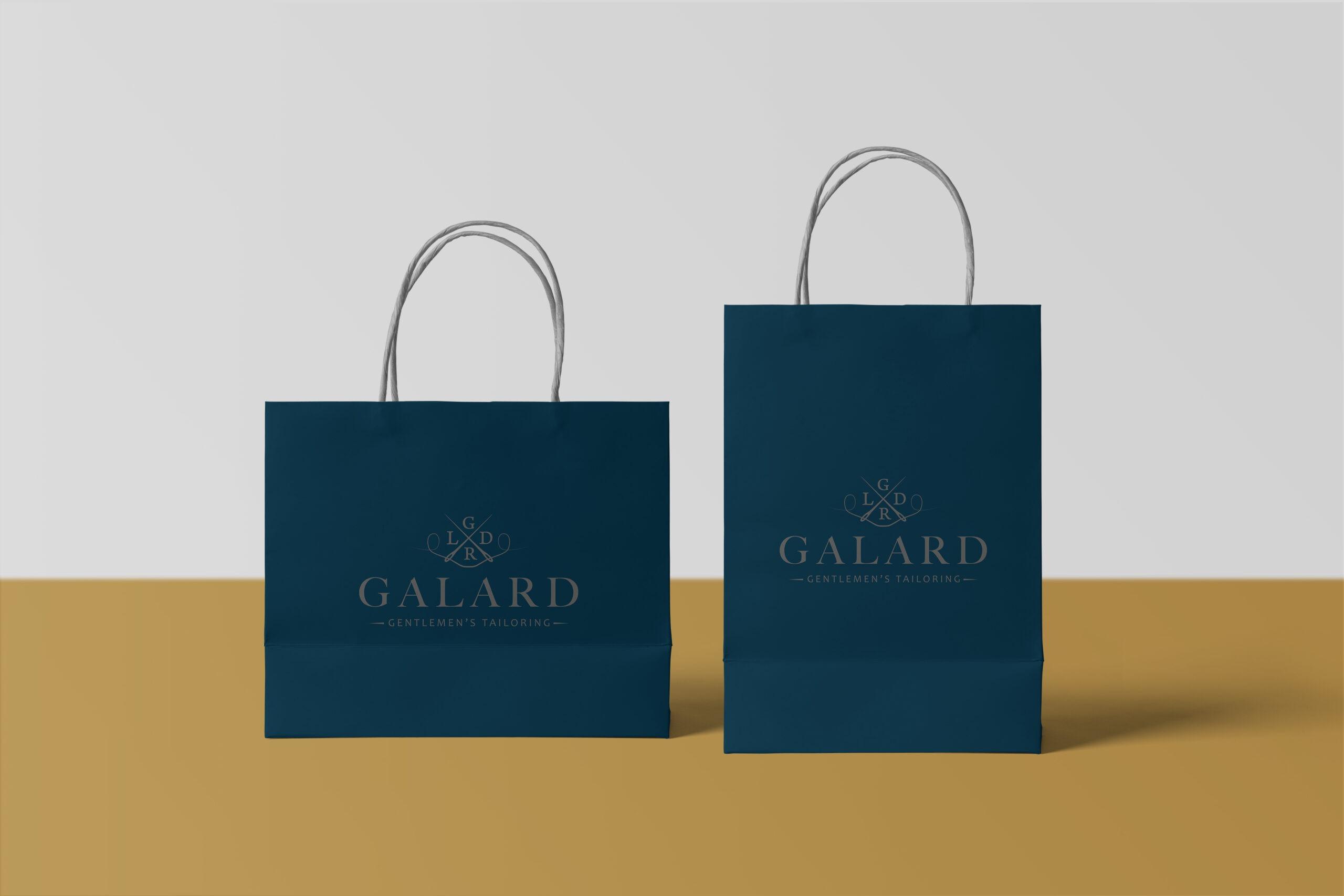 Galard vizuální identita mockup