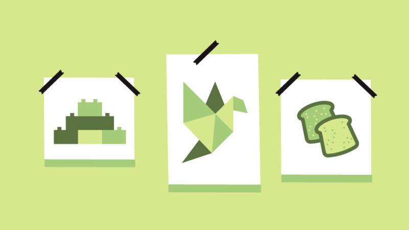 Nastartujte svou kreativitu pomocí lega, origami nebo toustu