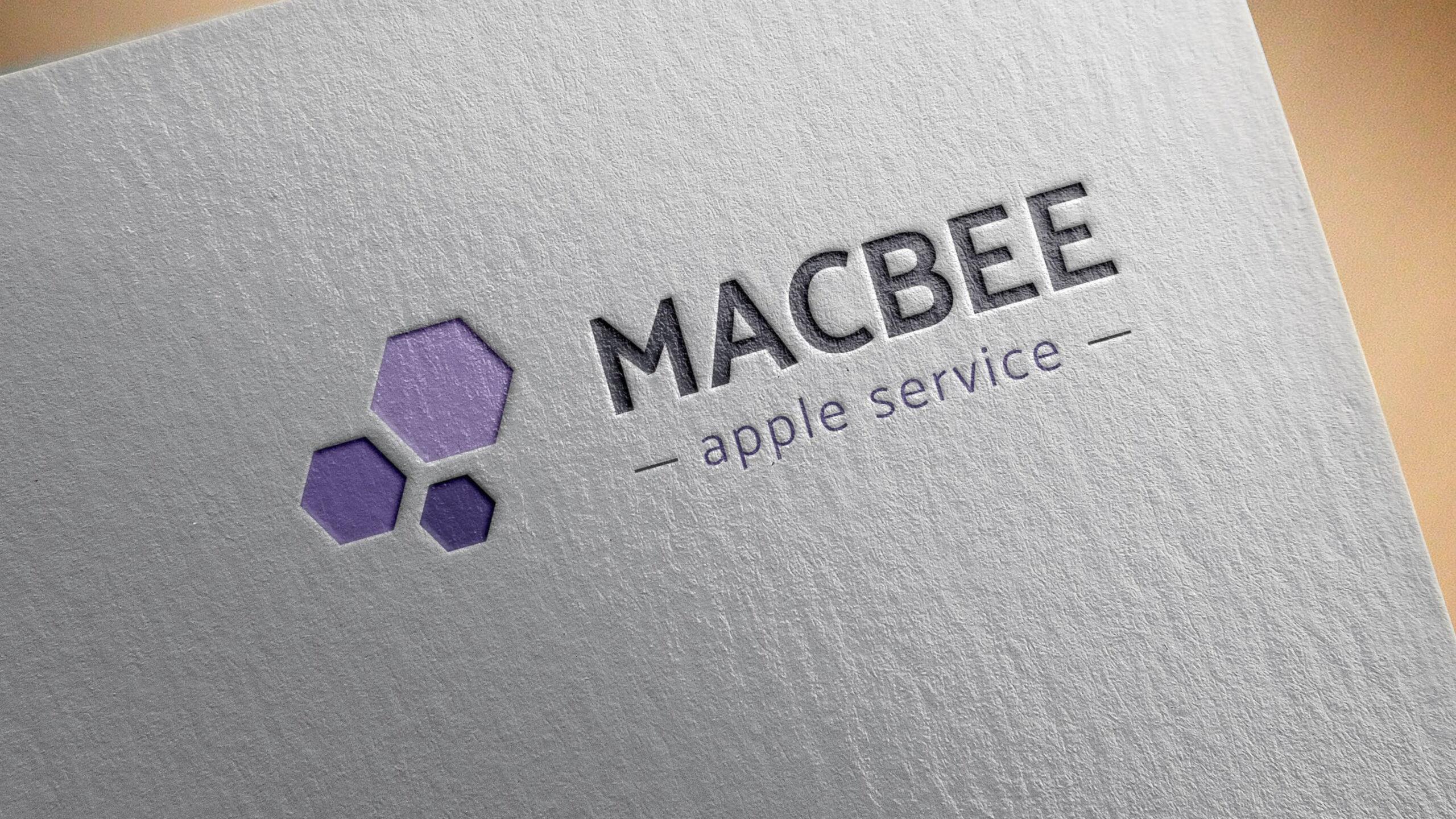 Mac Bee návrh loga
