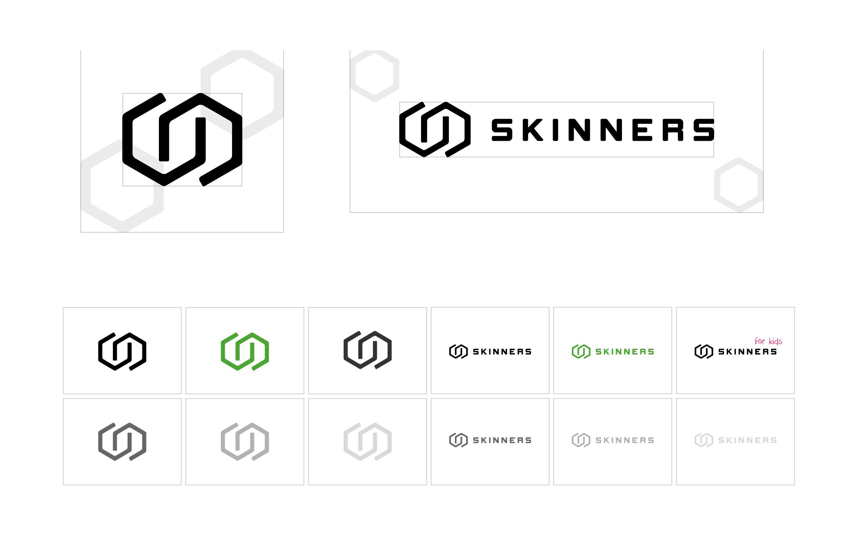 Skinners logomanuál