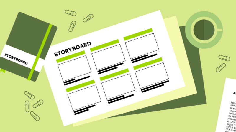 7 podstatných kroků při tvorbě storyboardu