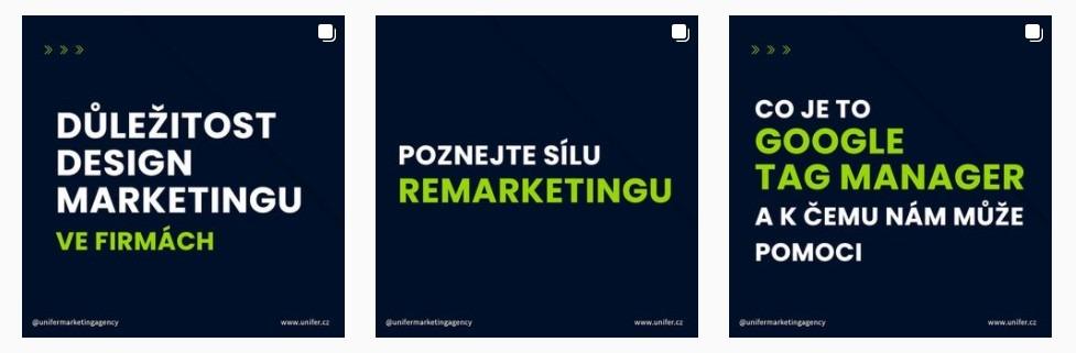 Obsahový marketing - Instagram