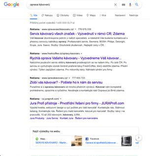 Placené výsledky hledání